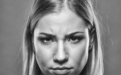 La ruga della rabbia…riflessologia facciale